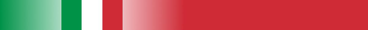 Bannière représentant le drapeaux de l'Italie