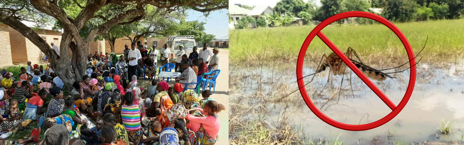 Sauvons les femmes et les bambins de Kidagaa La chasse à l'anophèle est ouverte !